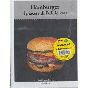 HAMBURGER IL PIACERE DI FARLI IN CASA. SALE & PEPE COLLECTION N. 11