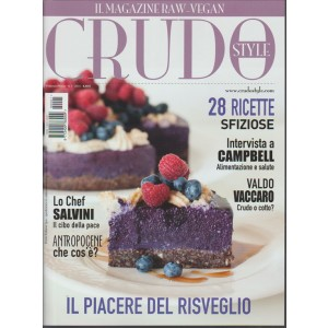 CRUDO Style - il Magazine RAW-VEGAN n. 7 - Febbraio/Marzo 2016