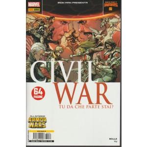 IRON MAN & NEW AVENGERS 34 - IRON MAN PRESENTA CIVIL WAR 2 - Marvel Italia