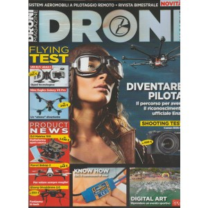 Droni Magazine - rivista bimestrale n.5 Febbraio 2016