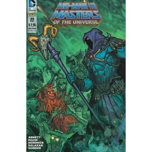 He-Man and the Masters of the Universe 22 - DC Comics Lion