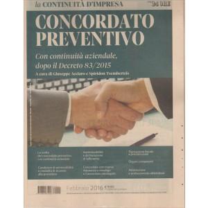 Concordato Preventivo by il Sole 24 Ore - la continuità d'impresa