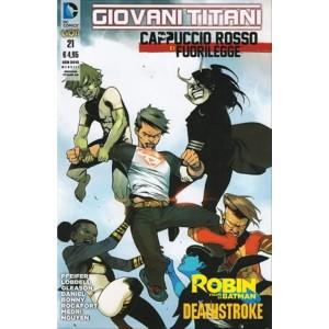 Giovani Titani 45 – Giovani Titani/ Cappuccio Rosso 21 - DC Comics Lion