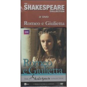 DVD Romeo e Giulietta c/P.Ryecart e R.Saire-The Shakespeare Collection 3° uscita