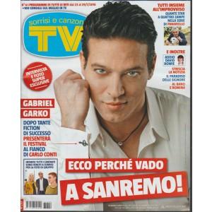 Sorrisi e Canzoni TV - settimanale n. 41 progranmmi 23/29 gennaio 2016