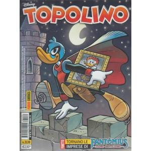 Topolino Disney n. 3139 -26 Gennaio 2016 - Panini comics