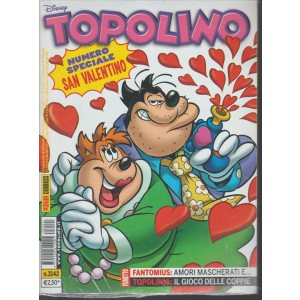 Topolino Disney n. 3142 - 16 Febbraio 2016 - Panini comics