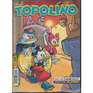 Topolino Disney n. 3141 - 9 Febbraio 2016 - Panini comics