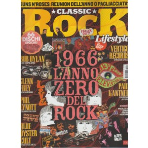 CLASSIC ROCK Lifestyle - mensile n. 40 Marzo 2016