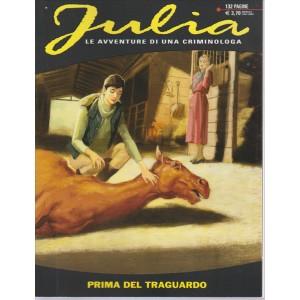 JULIA. LE AVVENTURE DI UNA CRIMINOLOGA. PRIMA DEL TRAGUARDO. N.208. 132 PAGINE.