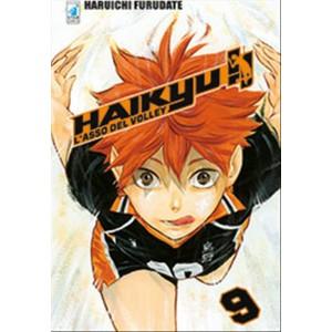 Manga: HAIKYU!! #9 - DC Comics collana Target #58