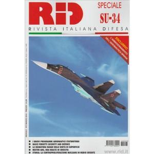 RID Rivista difesa italiana - mensile n. 3 Marzo 216