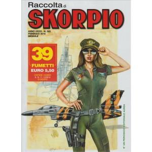 Raccolta di Skorpio - mensile di fumetti n. 505 Febbraio 2016