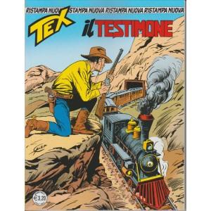 """Tex nuova ristampa n. 395 """"il Testimone"""" by Sergio Bonelli editore"""