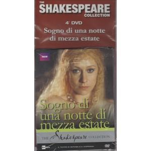 THE SHAKESPEARE COLLECTION 4° DVD SOGNO DI UNA NOTTE DI MEZZA ESTATE