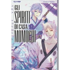 Manga: Gli Spiriti Di Casa Momochi 004 - editore J-POP