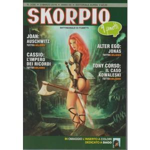 SKORPIO - settimanale di fumetti n. 2035 - 3 Marzo 21016