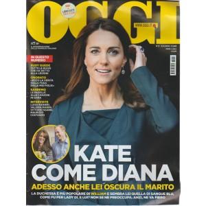 OGGI settimanale n. 6 - 02/02/2016 - Kate come Diana