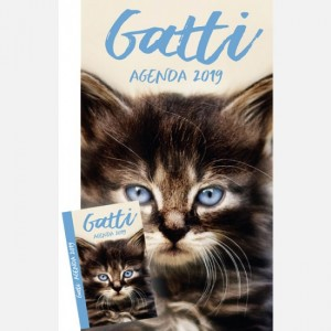 Calendari & Agende - Cani & Gatti Calendario Gatti - Verticale + Agenda 2019