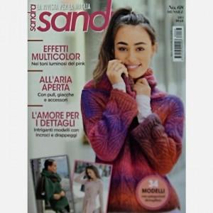 Sandra - La rivista per la maglia Effetti multicolor