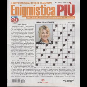 Enigmistica Piu' - n. 46 - 21 novembre 2018 - settimanale