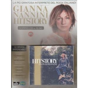Doppio CD HISTORY di Gianna Nannini - 32 brani by Sorrisi e Canzoni TV