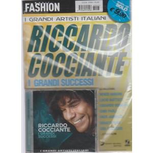 MUSIC FASHION . I GRANDI ARTISTI ITALIANI. RICCARDO COCCIANTE. I GRANDI SUCCESSI. RIVISTA + CD