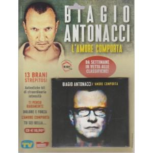 BIAGIO ANTONACCI. 13 BRANI STREPITOSI.L'AMORE COMPORTA.