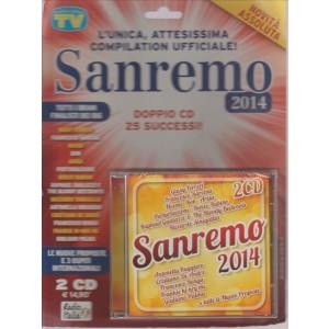 SANREMO 2014. L'UNICA, ATTESISSIMA COMPILATION UFFICIALE! DOPPIO CD 25 SUCCESSI!
