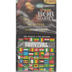 BOB MARLEY. SURVIVAL EDIZIONE DIGIPACK INEDITA  5° CD. 19 SETTEMBRE