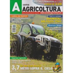 A COME AGRICOLTURA.N. 28 APRILE 2016. SPECIALE PRIMAVERA