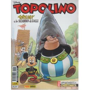 TOPOLINO. N. 3146. 15 MARZO 2016.TOPOLINIX E LO SCAMBIO DI GALLI.