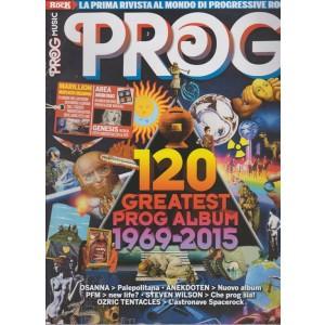 PROG MUSIC. LA PRIMA RIVISTA AL MONDO DI PROGRESSIVE ROCK  N. 1