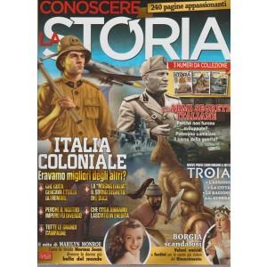 CONOSCERE LA STORIA. 240 PAGINE APPASSIONANTI. 3 NUMERI DA COLLEZIONE. 16/17/18.