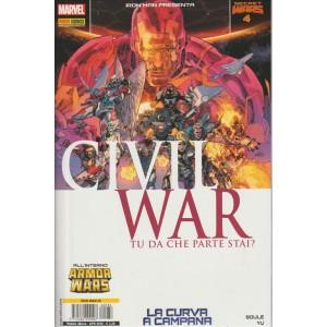 IRON MAN & NEW AVENGERS 36 - IRON MAN PRESENTA CIVIL WAR 4 - Marvel Italia