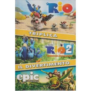 RIO + RIO2 + EPIC. TRIPLICA IL DIVERTIMENTO. 3 FILM.