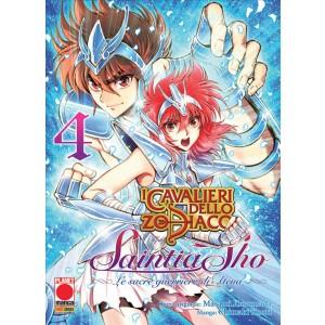 Manga: I CAVALIERI DELLO ZODIACO SAINTIA SHO LE SACRE GUERRIERE DI ATENA 4