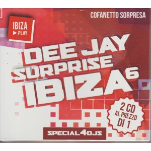 DEE JAY SURPRISE IBIZA   6.  2 CD. COFANETTO SORPRESA. N. 2 . 2016.