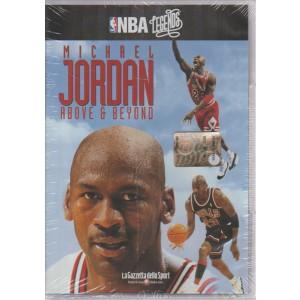 NBA LEGENDS. N. 4. MICHAEL JORDAN ABOVE & BEYOND.