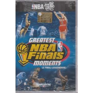 NBA LEGENDS. N. 10 GREATEST NBA FINALS MOMENTS. LE FINALI LEGGENDARIE.