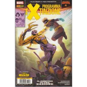 I NUOVISSIMI X-MEN 34 PRESENTA PROGRAMMA EXTINZIONE 4 - Marvel Italia