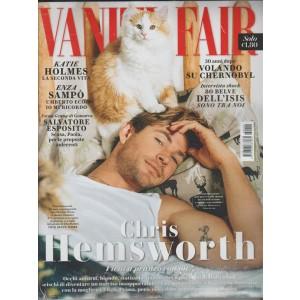 VANITY FAIR settimanale n. 16 - 27 aprile 2016 - Chris Hemsworth