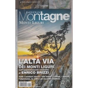 MERIDIANI MONTAGNE. MONTI LIGURI. N. 80 MAGGIO 2016.