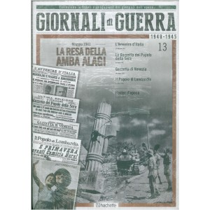 GIORNALI DI GUERRA 1940 - 1945 - N.13 - LA RESA DELLA AMBRA ALAGI - MAGGIO 1941