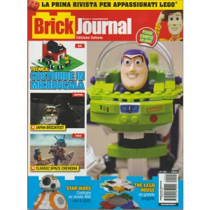 BRICK JOURNAL. N. 4 EDIZIONE ITALIANA. 2016.