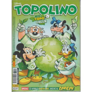 Topolino - Settimanale n. 3152 - 26 aprile 2016