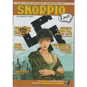 SKORPIO - settimanale di fumetti n. 2044 - 5 Maggio 2016