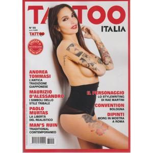 TATTOO ITALIA. N. 55  MAGGIO/GIUGNO 2016.