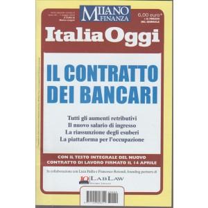 MILANO FINANZA. ITALIA OGGI. N. 9 . 7 MAGGIO 2016.  IL CONTRATTO DEI BANCARI.