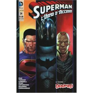 Superman L'Uomo D'Acciaio 24 - DC Comics Lion